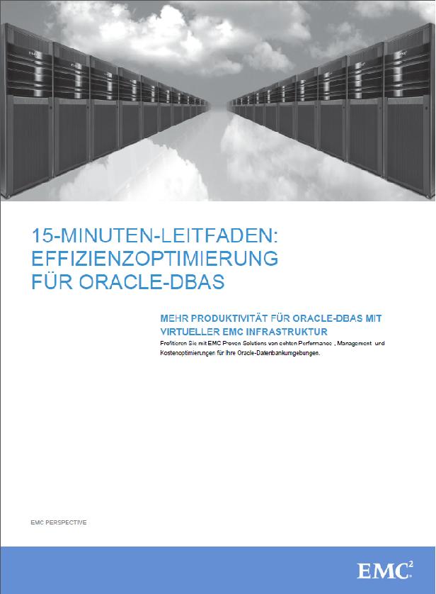 15-Minuten-Leitfaden: Effizienzoptimierung für Oracle-DBAS