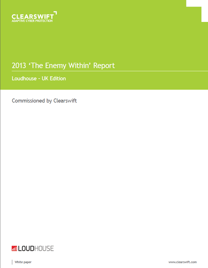 2013 'The Enemy Within' Report