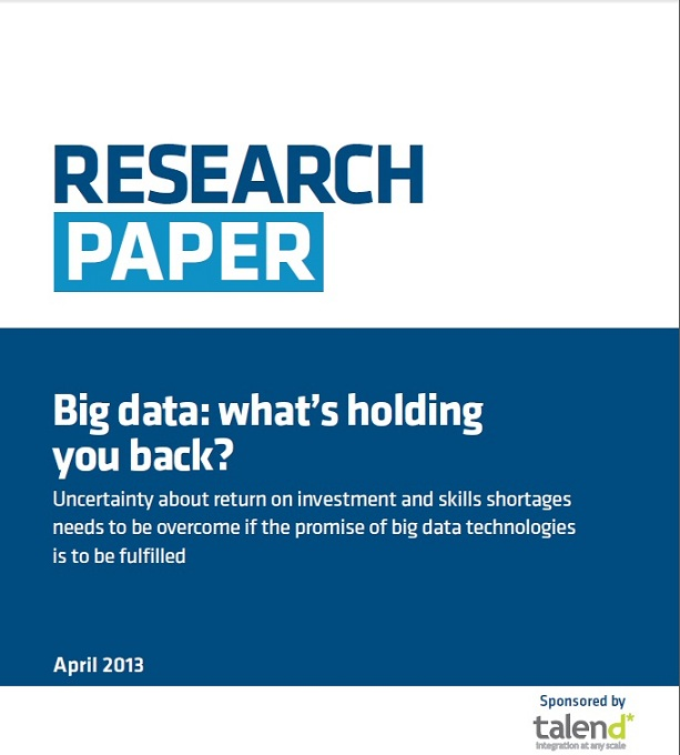 Big data: what's holding you back?