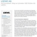 """Case Study: """"Loewe setzt Virtualisierung mit VSPEX um"""""""