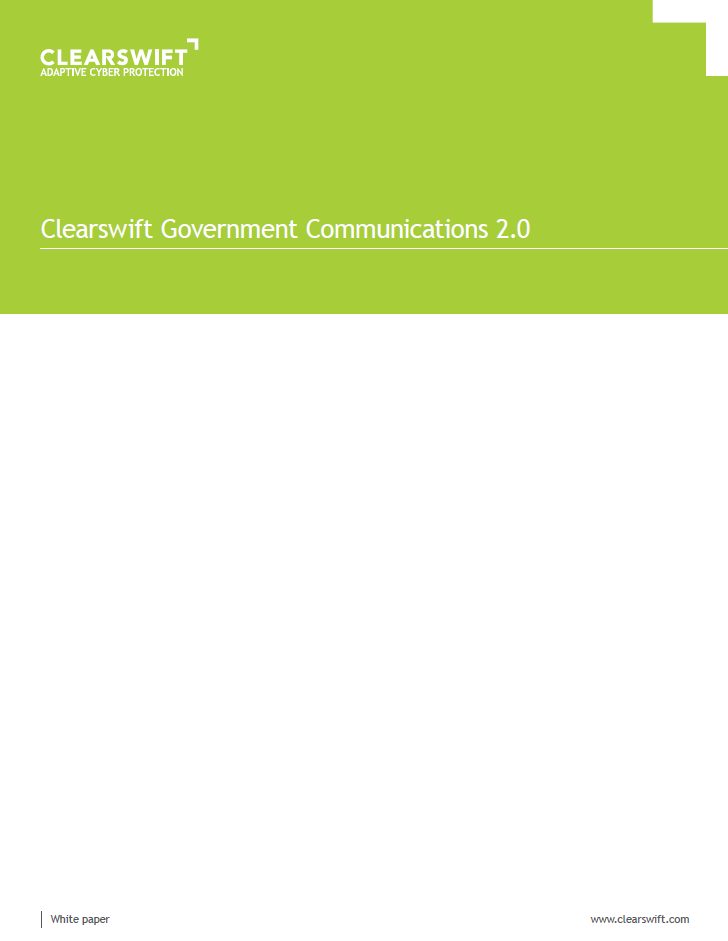 Clearswift Government Communications 2.0
