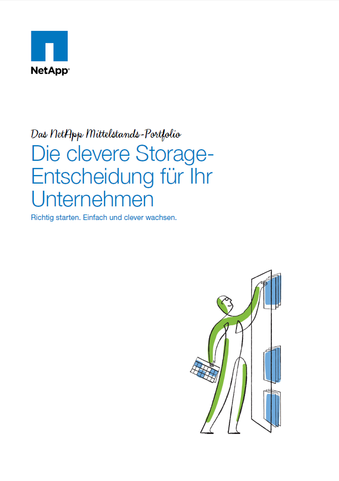 Die clevere Storage-Entscheidung für Ihr Unternehmen