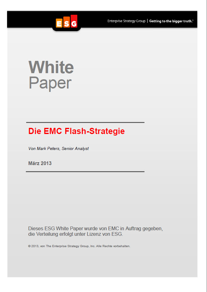 Die EMC Flash-Strategie