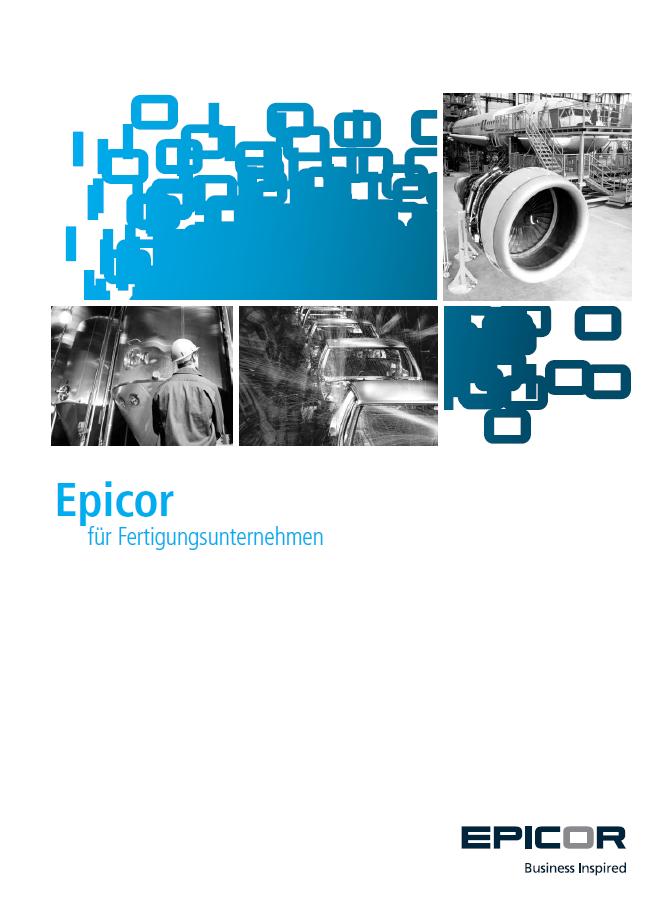 Epicor für Fertigungsunternehmen