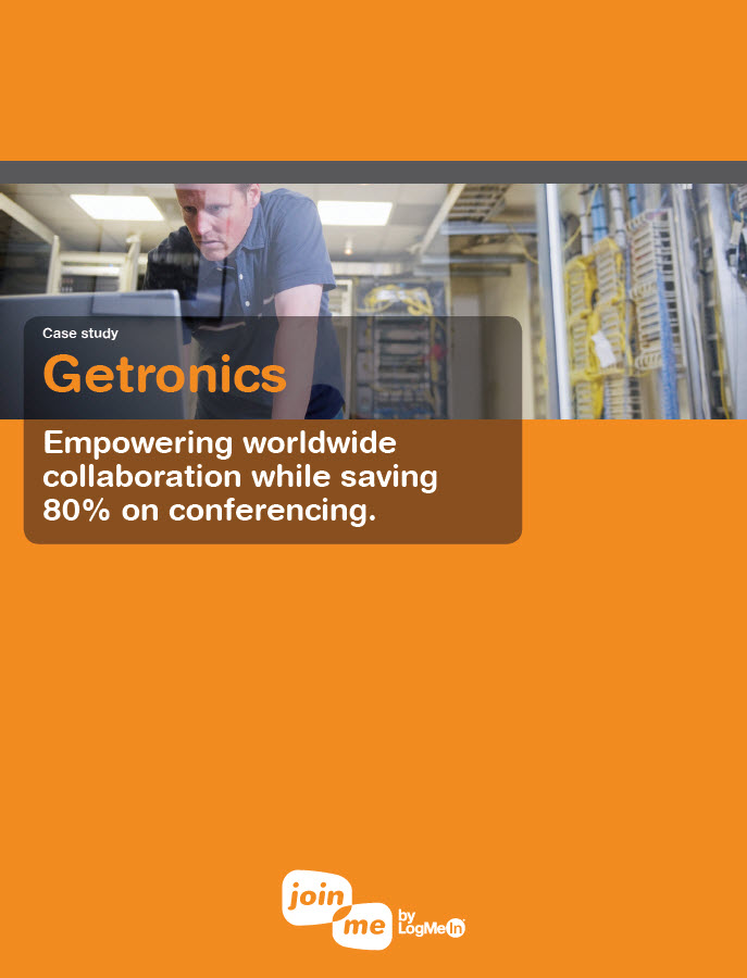 Getronics Case study – Empowering worldwide collaboration while saving 80% on conferencing