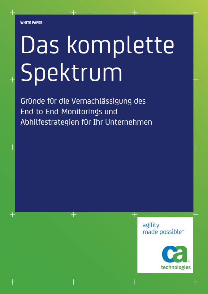 Gründe für die Vernachlässigung des End-to-End-Monitorings und Abhilfestrategien für Ihr Unternehmen