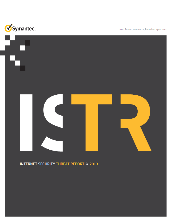 internet security THREAT REPORT 2013