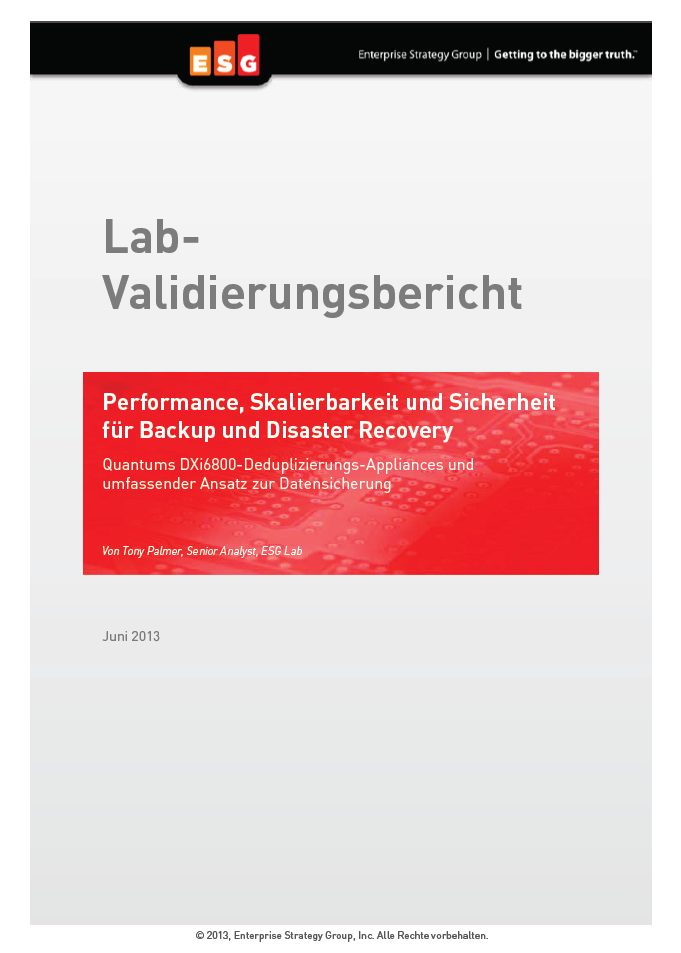Lab-Validierungsbericht
