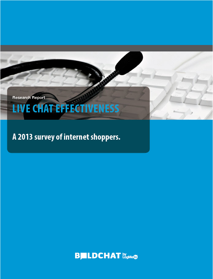 LIVE CHAT EFFECTIVENESS