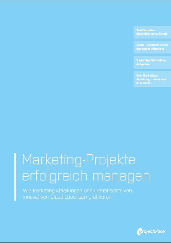 Marketing-Projekte erfolgreich managen