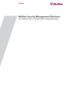 McAfee Security Management-Plattform