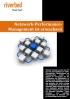 Netzwerk-Performance- Management ist erwachsen