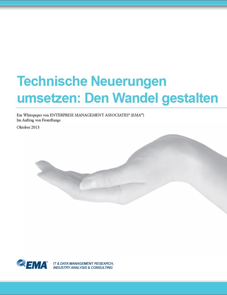 Technische Neuerungen umsetzen: Den Wandel gestalten