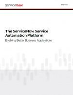 The Service Automation Platform