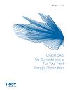 12 Gb/s SAS: Key Considerations For Your Next Storage Generation