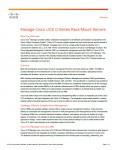 Manage Cisco UCS C-Series Rack-Mount Servers