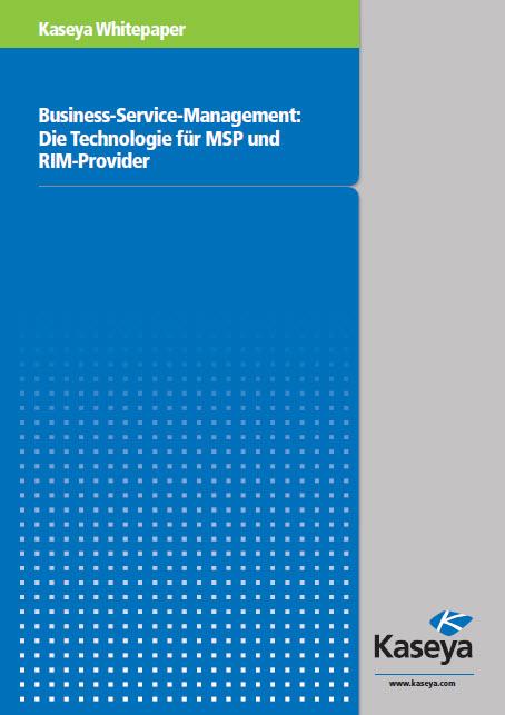 Business-Service-Management: Die Technologie für MSP und RIM-Provider
