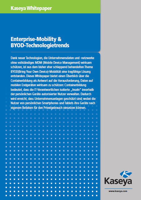 Enterprise-Mobility & BYOD-Technologietrends