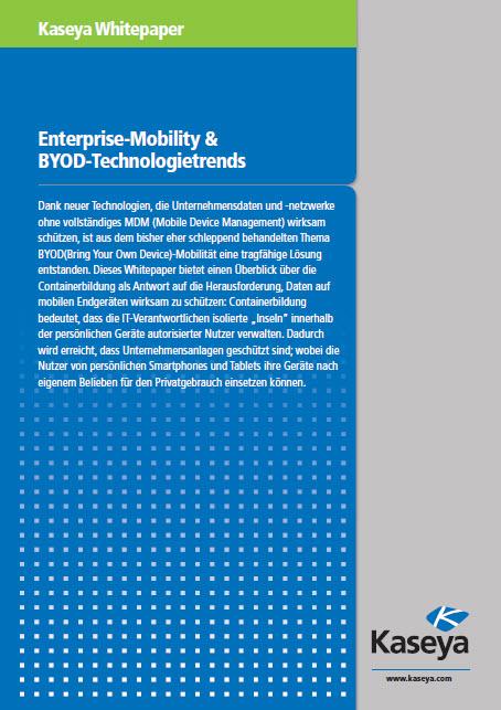 Enterprise-Mobility & BYOD-Technologietrends