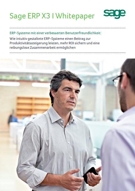 Sage ERP X3 I: ERP-Systeme mit einer verbesserten Benutzerfreundlichkeit