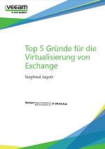 Top 5 Gründe für die Virtualisierung von Exchange