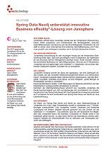 Spring Data Neo4j unterstützt innovative Business eReality®-Lösung von Junisphere