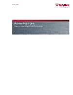 McAfee Multi-Link