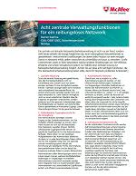 Acht zentrale Verwaltungsfunktionen für ein reibungsloses Netzwerk