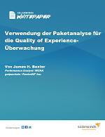 Verwendung der Paketanalyse für die Quality of Experience-Überwachung