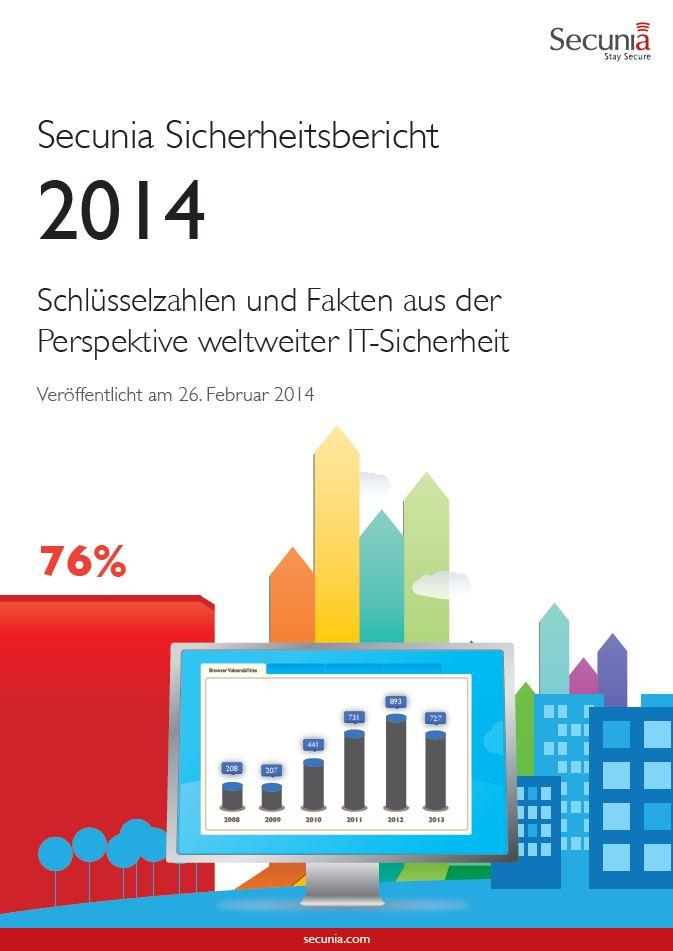 Secunia Sicherheitsbericht 2014: Schlüsselzahlen und Fakten aus der Perspektive weltweiter IT-Sicherheit