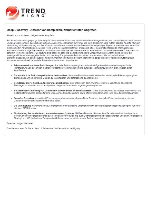 Deep Security 9.5: Schutz für physische, virtuelle und Cloud-Server