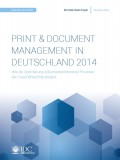 PRINT & DOCUMENT MANAGEMENT IN DEUTSCHLAND 2014
