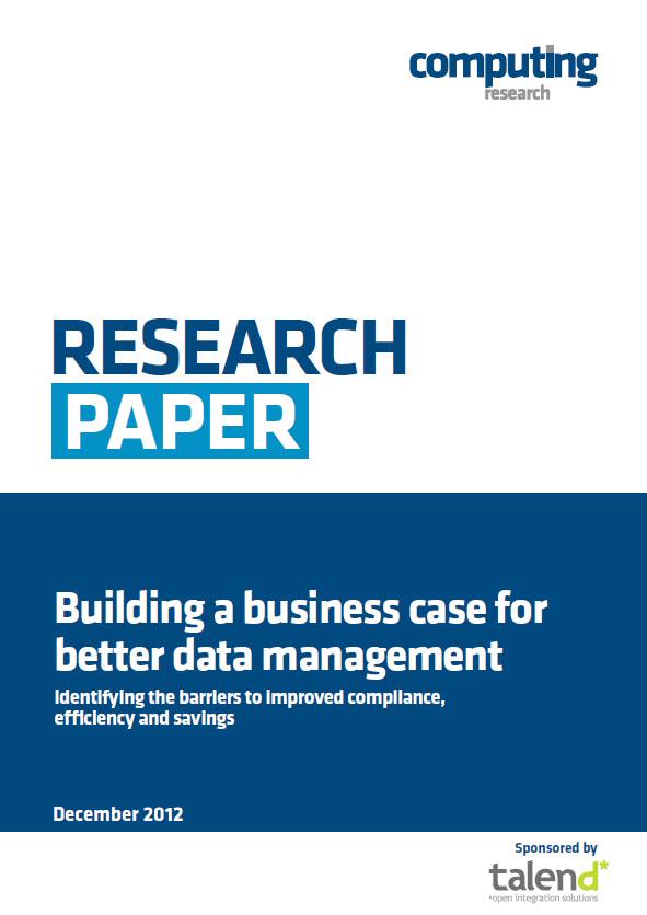 Der Aufbau eines Business Cases für besseres Datenmanagement