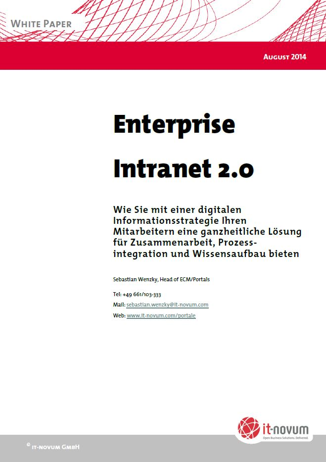 Enterprise Intranet 2.0