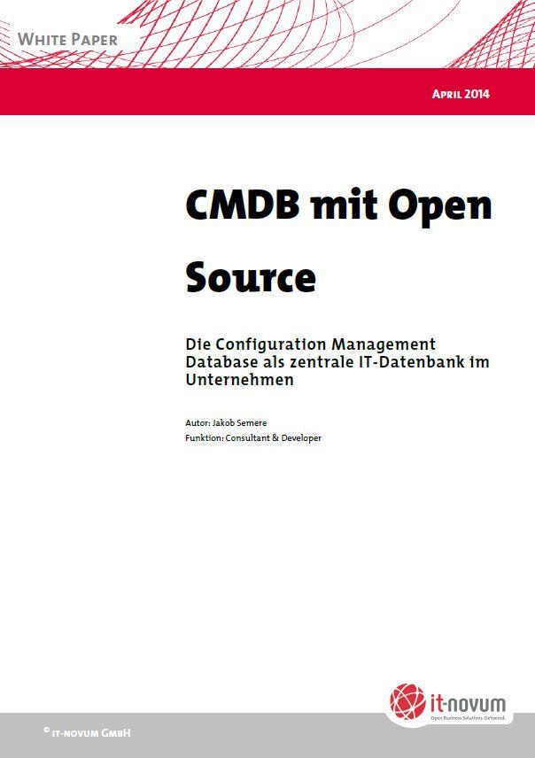 CMDB mit Open Source – Die Configuration Management Database als zentrale IT-Datenbank im Unternehmen
