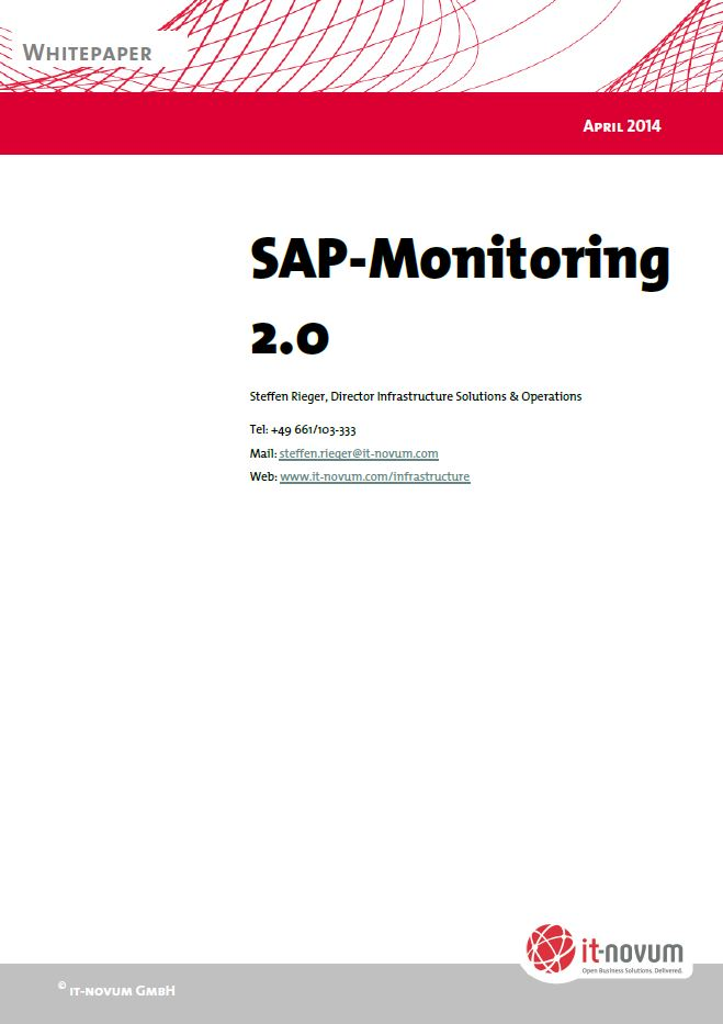 SAP-Monitoring 2.0