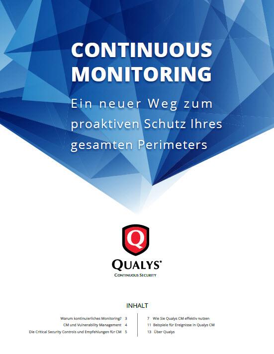 Continuous Monitoring – Ein neuer Weg zum proaktiven Schutz Ihres gesamten Perimeters