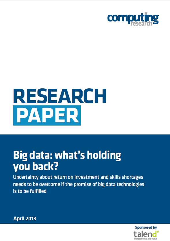 Big Data : Was hält Sie zurück?