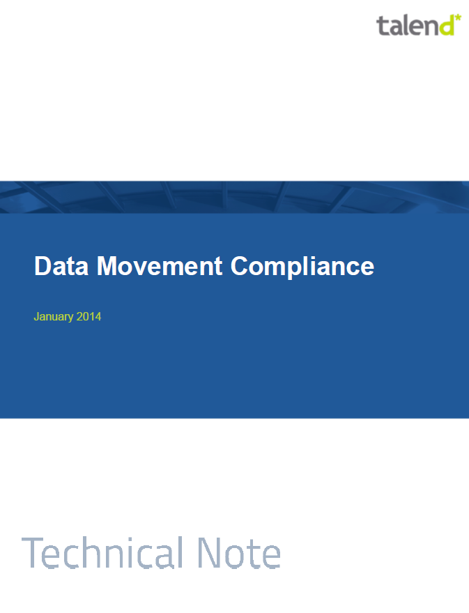 Data Movement Compliance