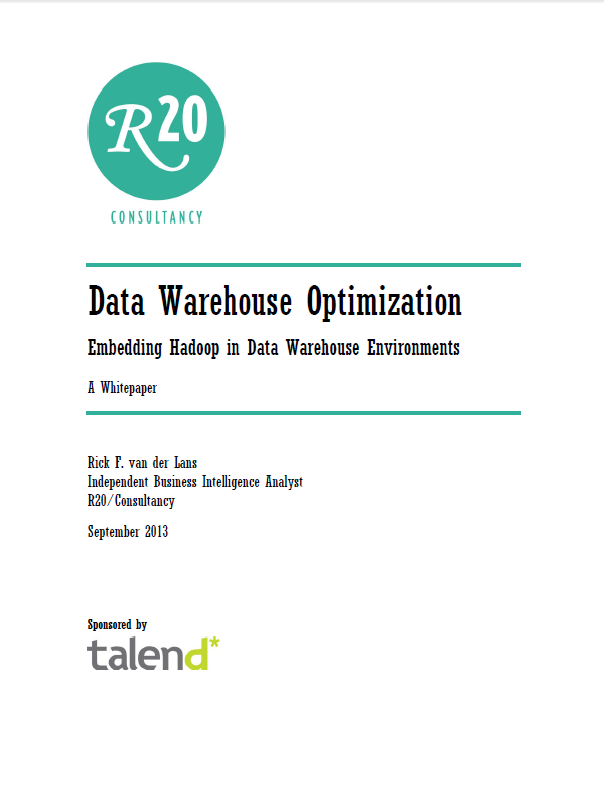 Data Warehouse-Optimierung