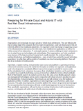 Preparing for Private Cloud and Hybrid IT with Red Hat Cloud Infrastructure