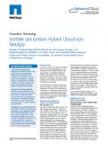 Vorteile der besten Hybrid Cloud von NetApp