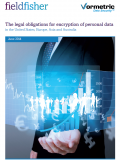 The legal obligations for encryption of personal data in the United States, Europe, Asia and Australia