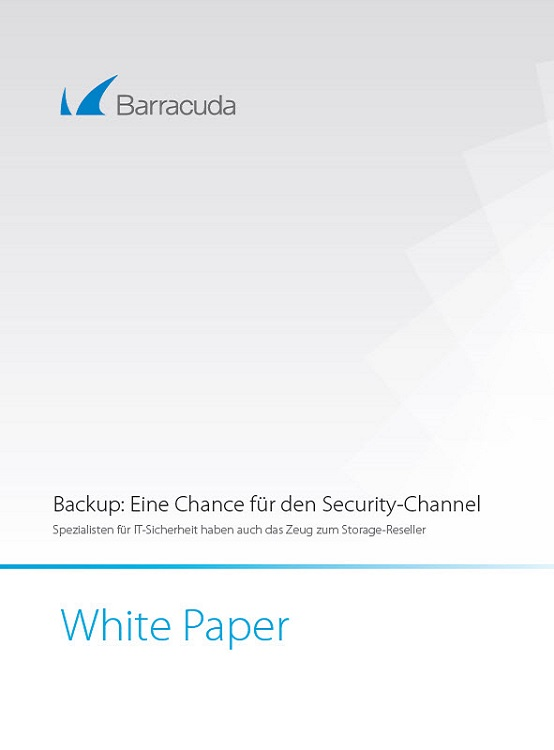 Backup: Eine Chance für den Security-Channel