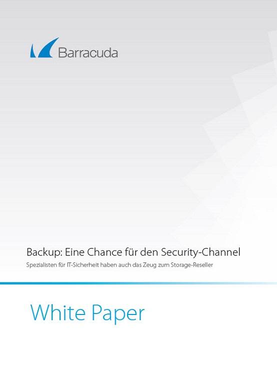 Backup: Eine Chance für den Security-Channel