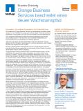 Fallstudie: Orange Business Services beschreitet neuen Wachstumspfad