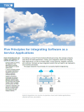 Five Principles for Integrating Software as a Service Applications