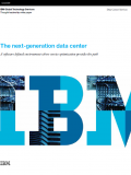 The next-generation data center - A software defined environment where service optimization provides the path