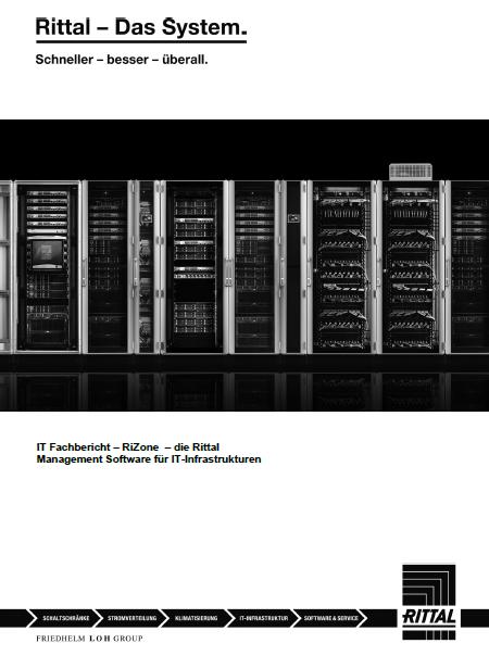 IT Fachbericht – RiZone<br>Rittal Management Software für IT-Infrastrukturen
