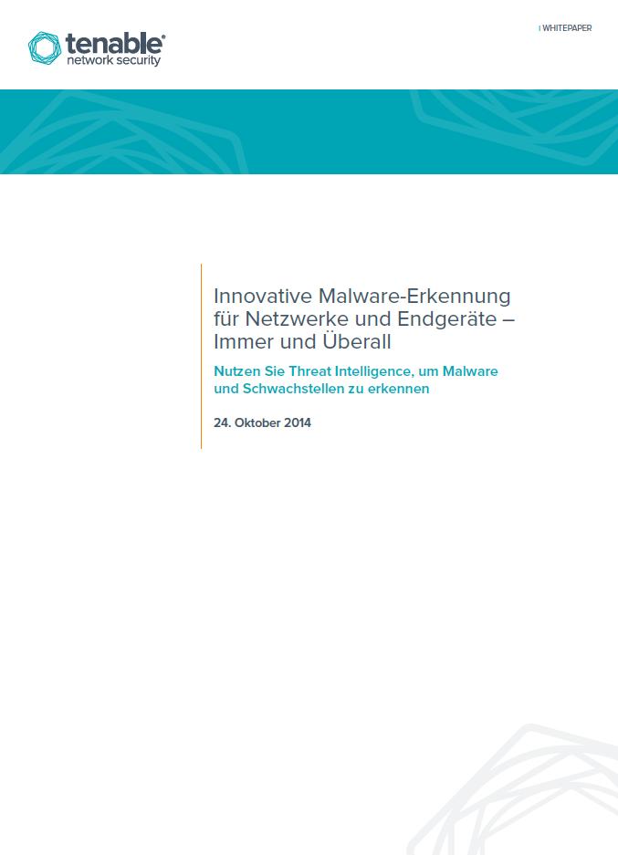 Innovative Malware-Erkennung für Netzwerke und Endgeräte – Immer und Überall